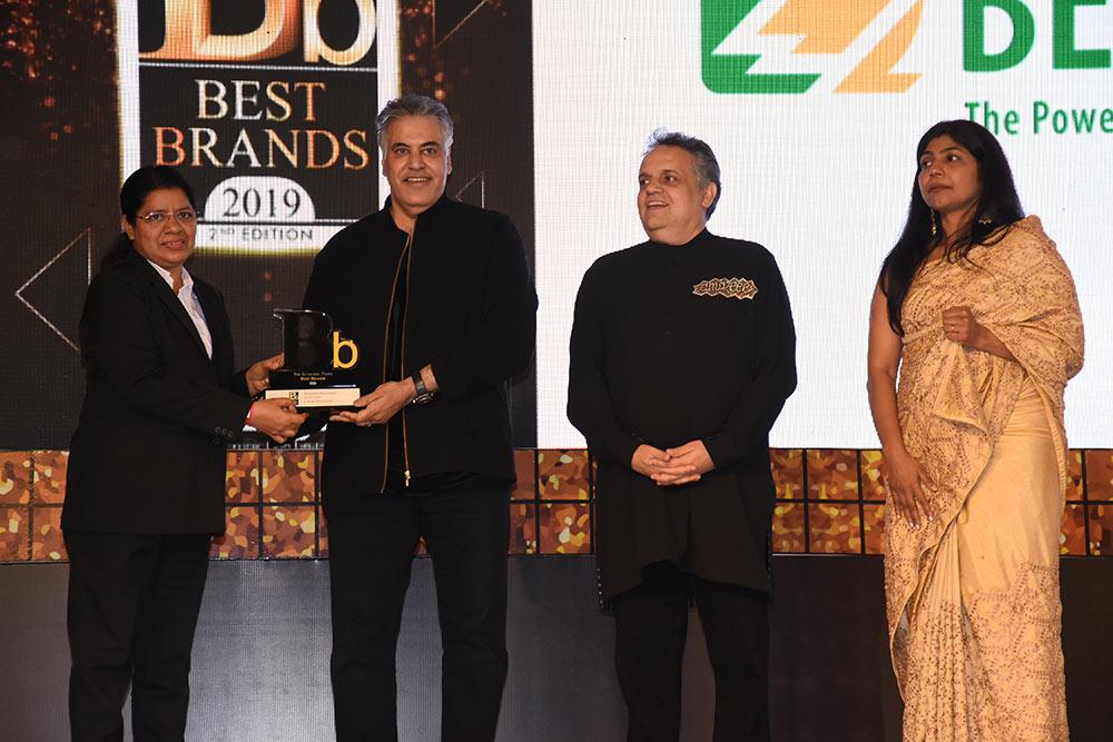 """Bender Indien gewinnt den """"The Economic Times Best Brands 2019"""" Award"""