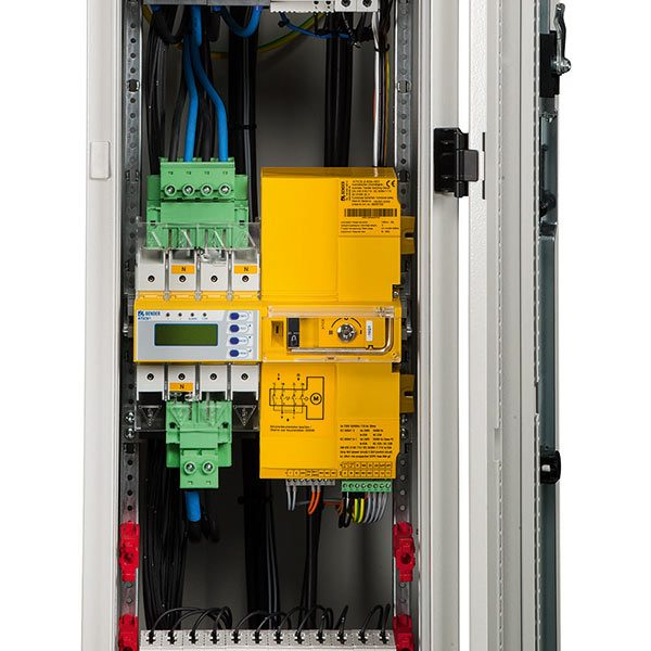 Switching equipment and distribution boards