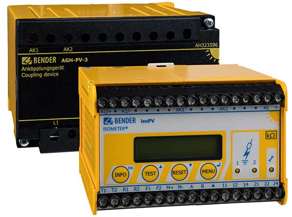 ISOMETER® isoPV with AGH-PV